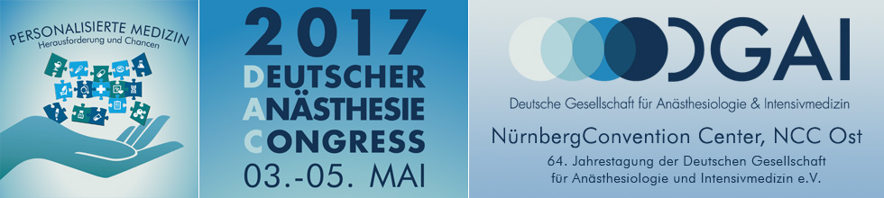 Deutscher An�sthesiecongress 2017
